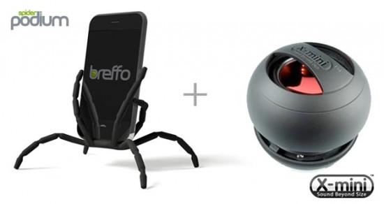 Breffo Spiderpod + X-mini II