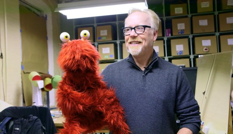Adam Savage skapar en muppet