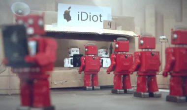 IDIOTS – iPhone Parody