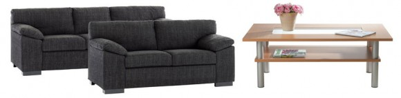 Nya möbler till vardagsrummet
