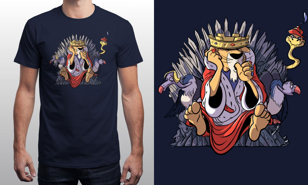 T-shirt THE REAL KING