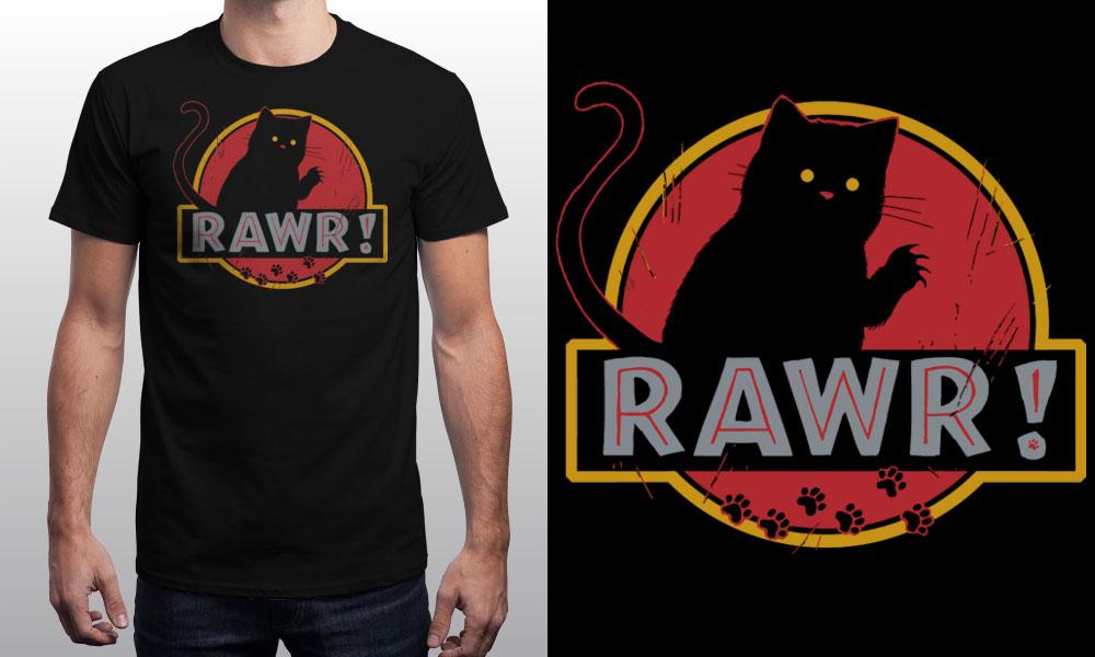 T-shirt RAWR!