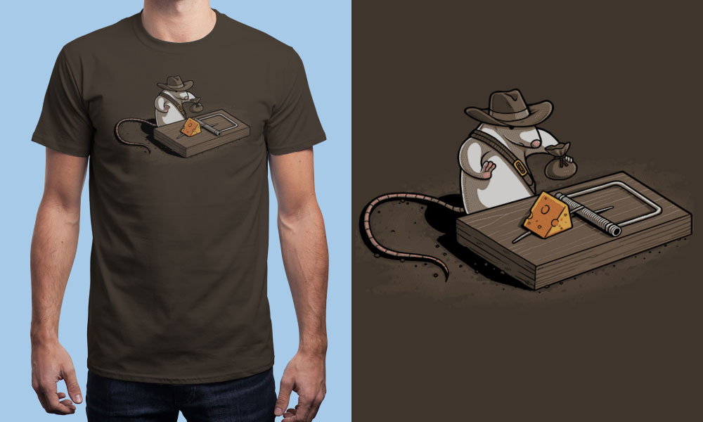 T-shirt INDIANA MOUSE